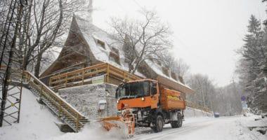Hungary winter snow 2019