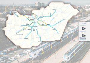 MÁV, KISS, train, line, Hungary