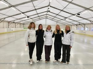 Marczibányi Sports Centre, ice skating, Budapest, Hungary