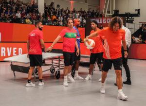 Teqball, sport, championship, Budapest, Hungary