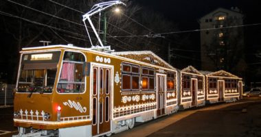 advent, tram, Hungary, Miskolc