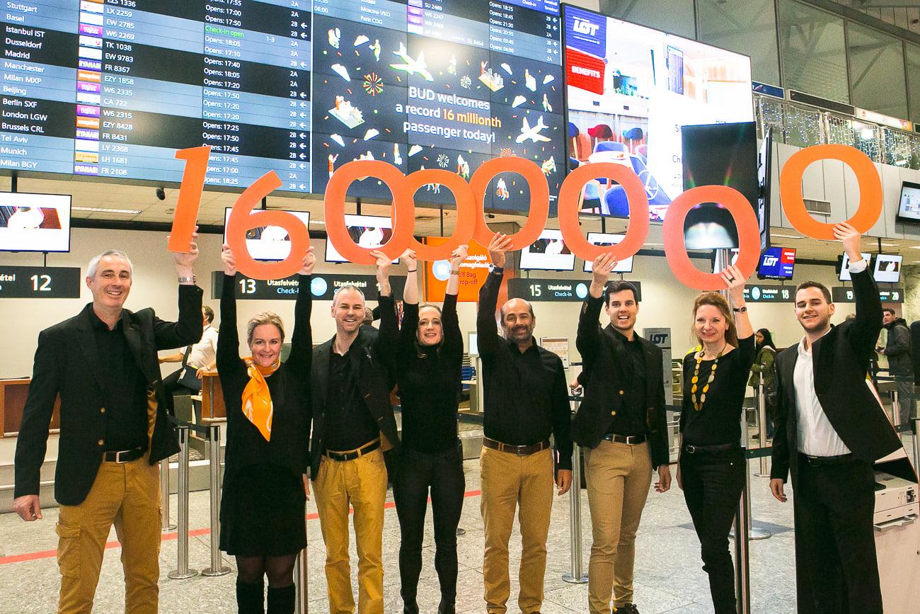 airport 16 million