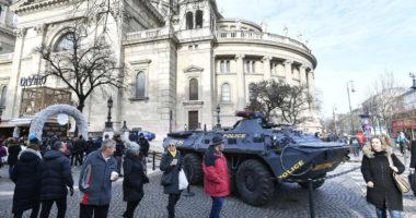 anti terrorism hungary budapest tek