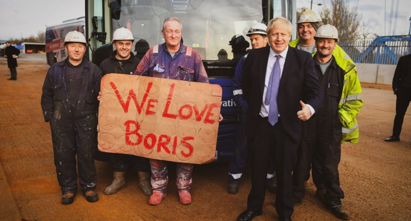 boris johnson is loved