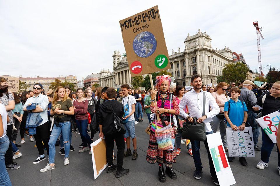 klímasztrájk budapest