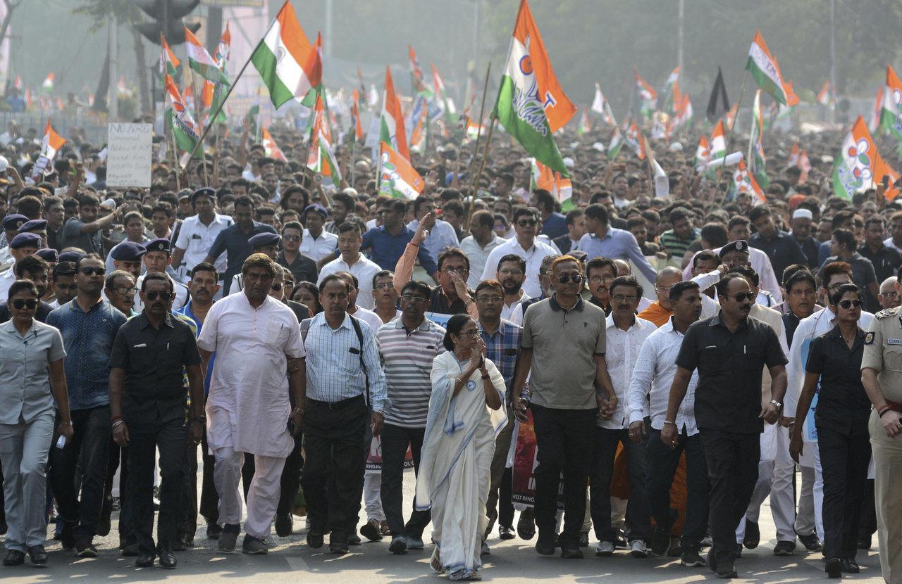 india demonstration