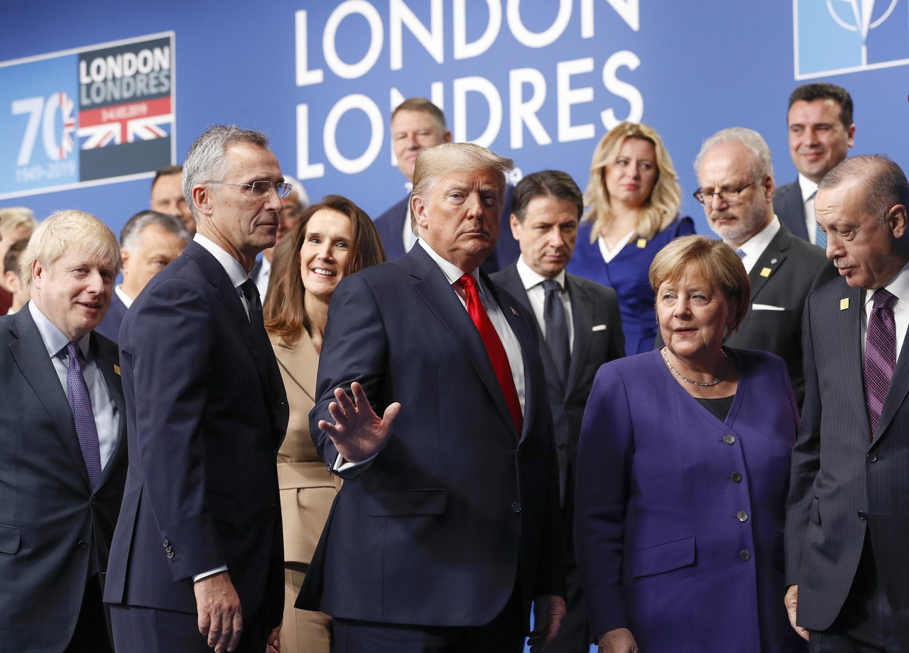nato summit in London