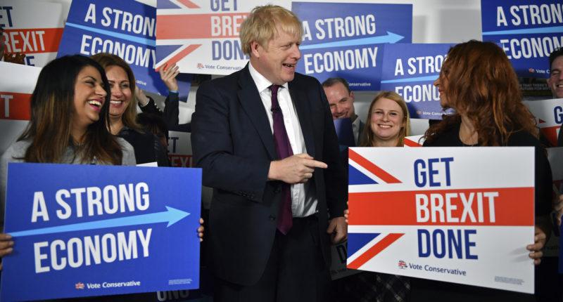 JOHNSON, Boris campaign