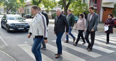 smart pedestrian crossing, Hungary, Budapest