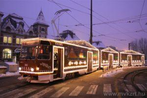 tram, Miskolc, Hungary, gingerbread