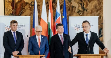 visegrad group v4 foreign ministers