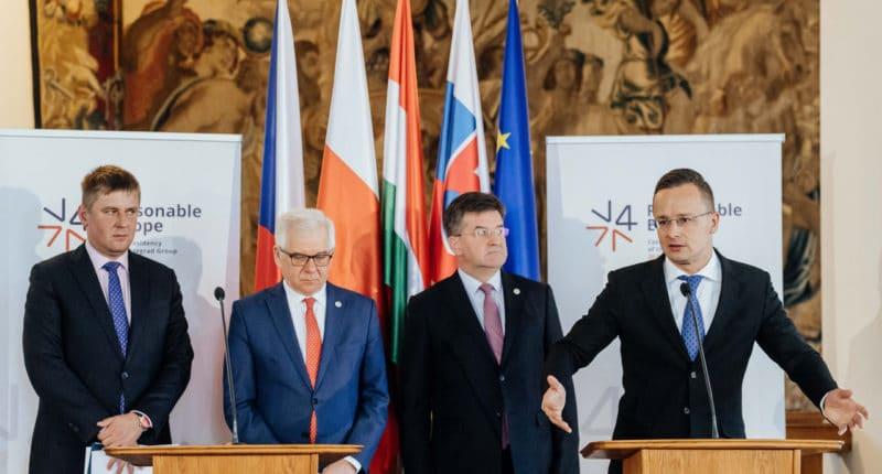 visegrad group v4 foreign ministers
