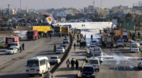 2 passengers injured as Iranian plane goes off runway