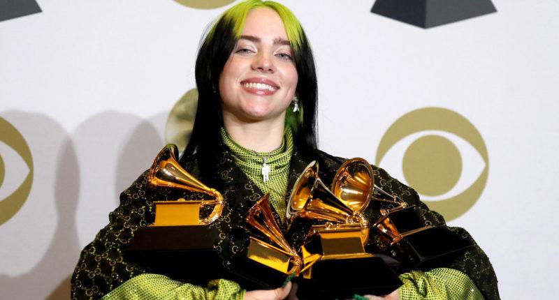 Billie Eilish dominates 2020 Grammy Awards