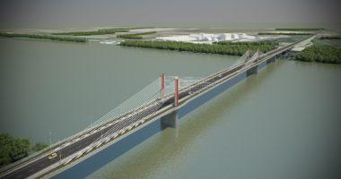Kalocsa, Paks, bridge, Danube, Hungary