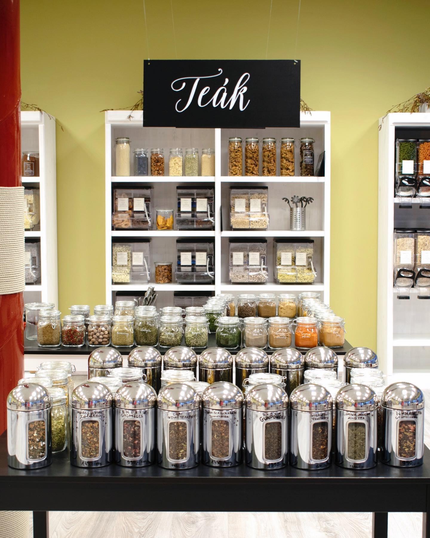 Liget Store Bolt Packaging Free Teas