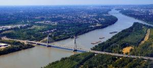 Megyeri Bridge, Danube, bridge