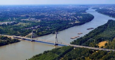 Megyeri Bridge, Danube, bridge