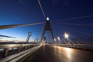 Megyeri Bridge, Hungary, bridge