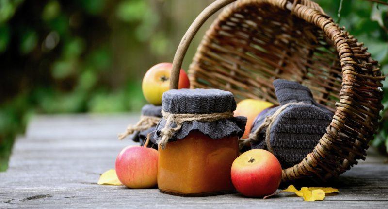 Shopping Basket Packaging Free Fruit Marmalade Jam