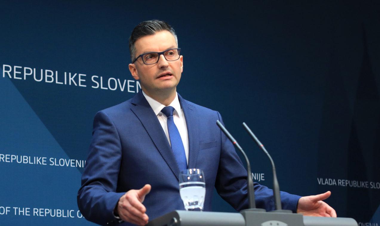 Slovenia's Prime Minister Marjan Sarec on Monday announced his resignation