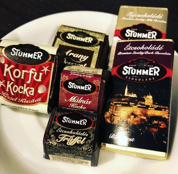 Stühmer Chocolate Hungary Packaging Dark Chocolate Milk Chocolate