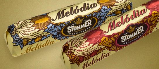 Stühmer Melódia Chocolate Bar Hungary