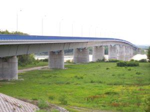 Szent László Bridge, Hungary, bridge