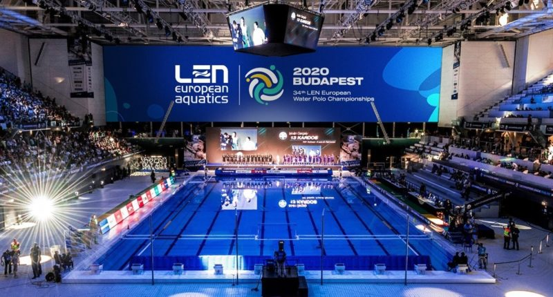 The 34th European Water Polo Championships will end on January 26.