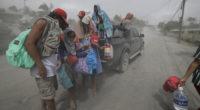 Thousands evacuated as Philippine volcano threatens big eruption