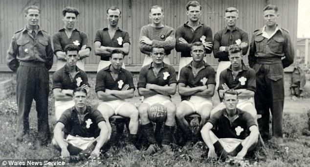 Ron Jones Auschwitz Football Team Soccer