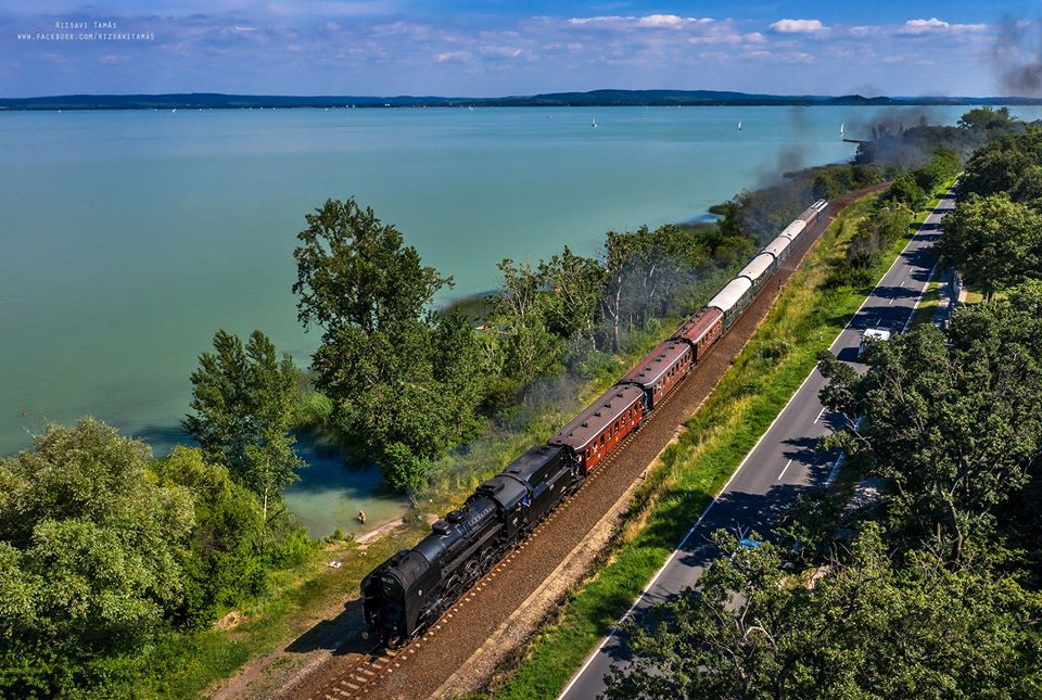 lake balaton train