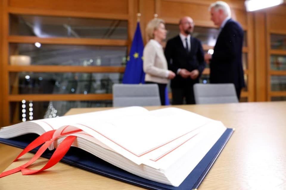 brexit deal signed