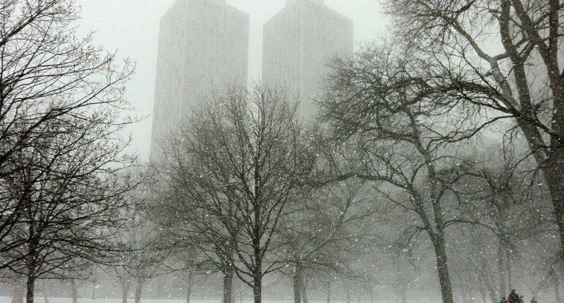chicago snow weather