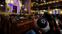 A commemoration was held in Budapest's Dohány Street Synagogue