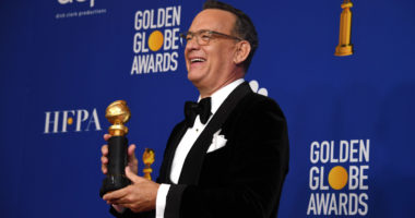 HANKS, Tom Golden Globe