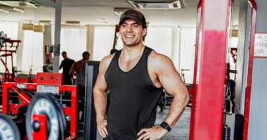 henry cavill flex gym budapest