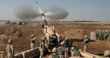 howitzer nato iraq middle east