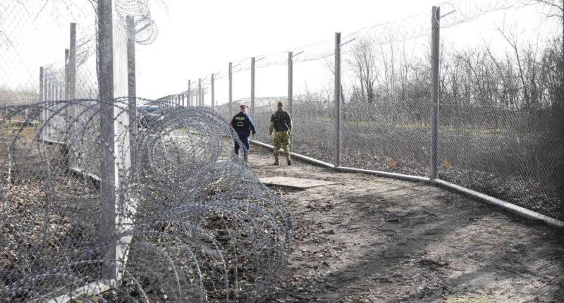 migration röszke border