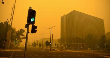 canberra smoke bushfire australia