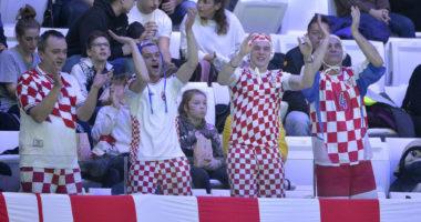 water polo croatian fans