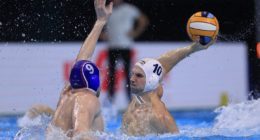 water polo european champs hungary goal
