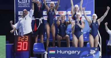 water polo european champs team hun