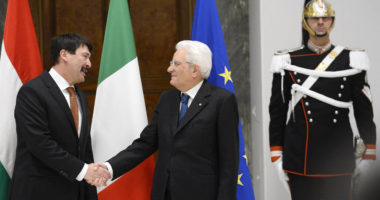 hungarian president in rome