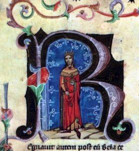 Béla II, king, Hungary, history