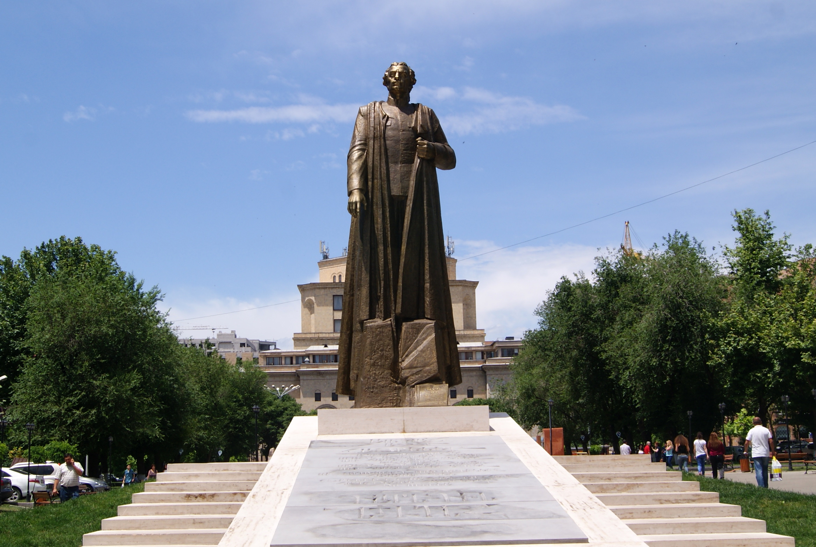 75th anniversary of VE: The monument to Garegin Nzdeh as a test for Nikol Pashinyan