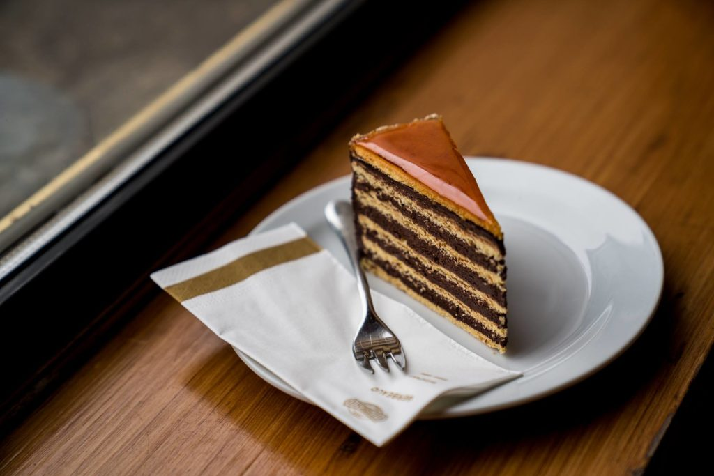 Gerbaud Café Dobos Cake