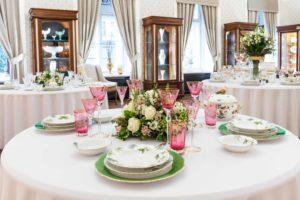 Herendi, table, porcelain, manufactory, Hungary