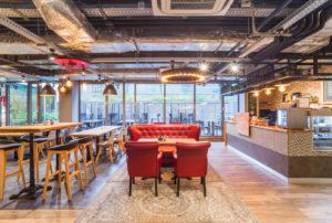 Kantin, office, Budapest, restaurant
