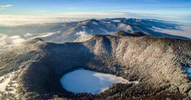 Lake Saint Anna Winter